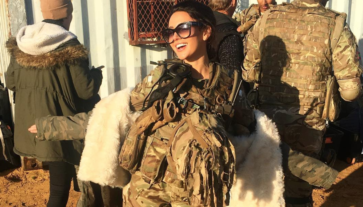 Michelle Keegan fans concerned she's revealed the end of Our Girl