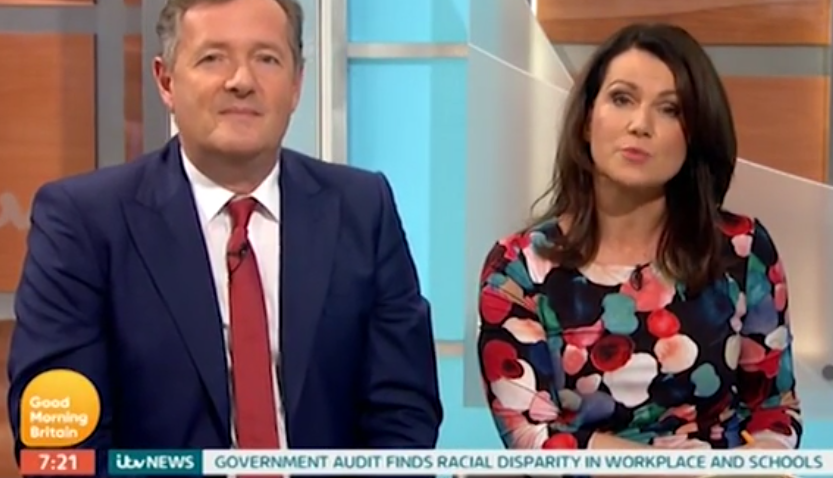 Piers Morgan reveals the ONE thing he won't ask Susanna Reid