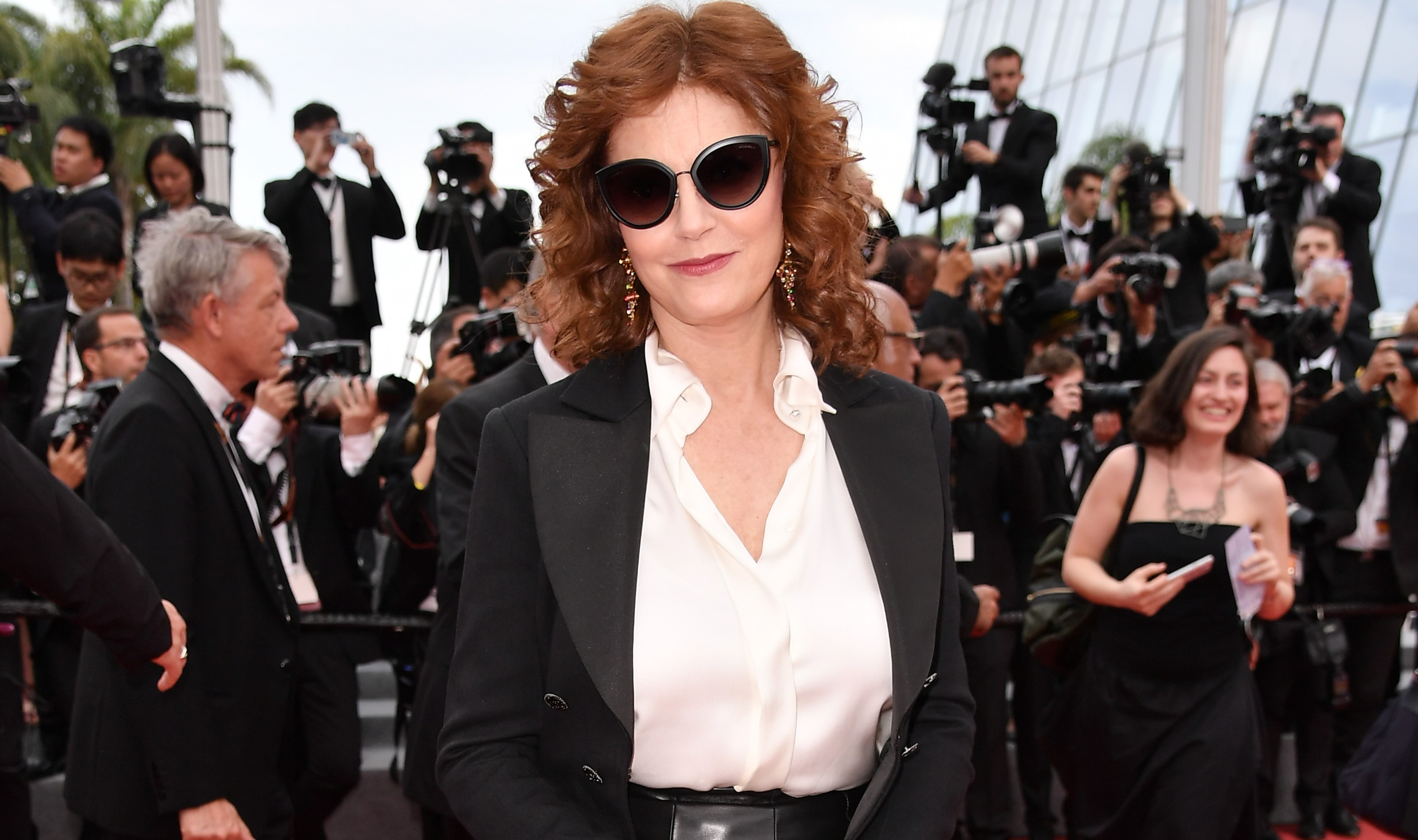 Susan Sarandon And Reese Witherspoon Praise Cara Delevingne For Sharing Weinstein Hotel Room Story