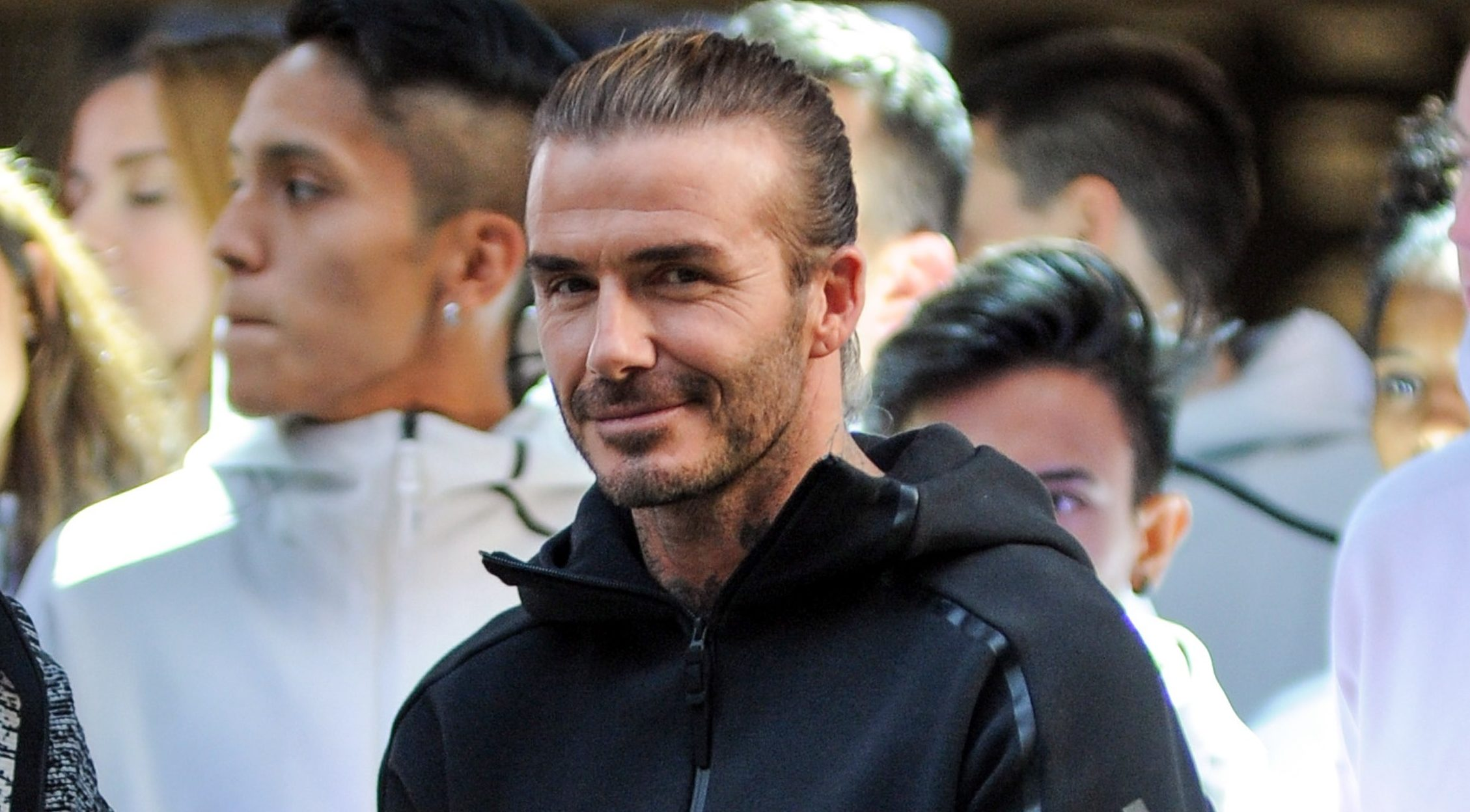 David Beckham admits concerns for eldest son Brooklyn