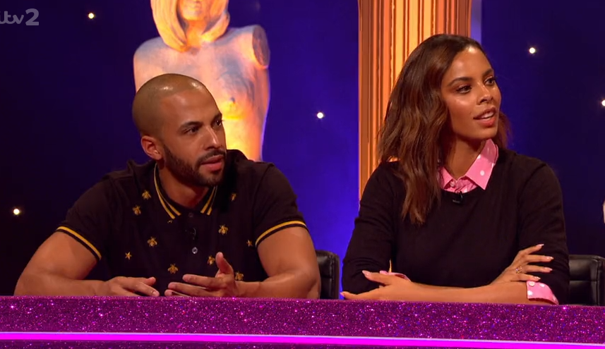 Rochelle and Marvin Humes let slip very saucy bedroom secret