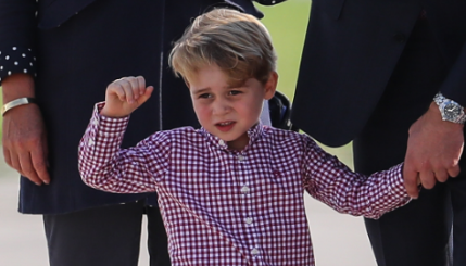 Prince William reveals George's favourite film and TV show
