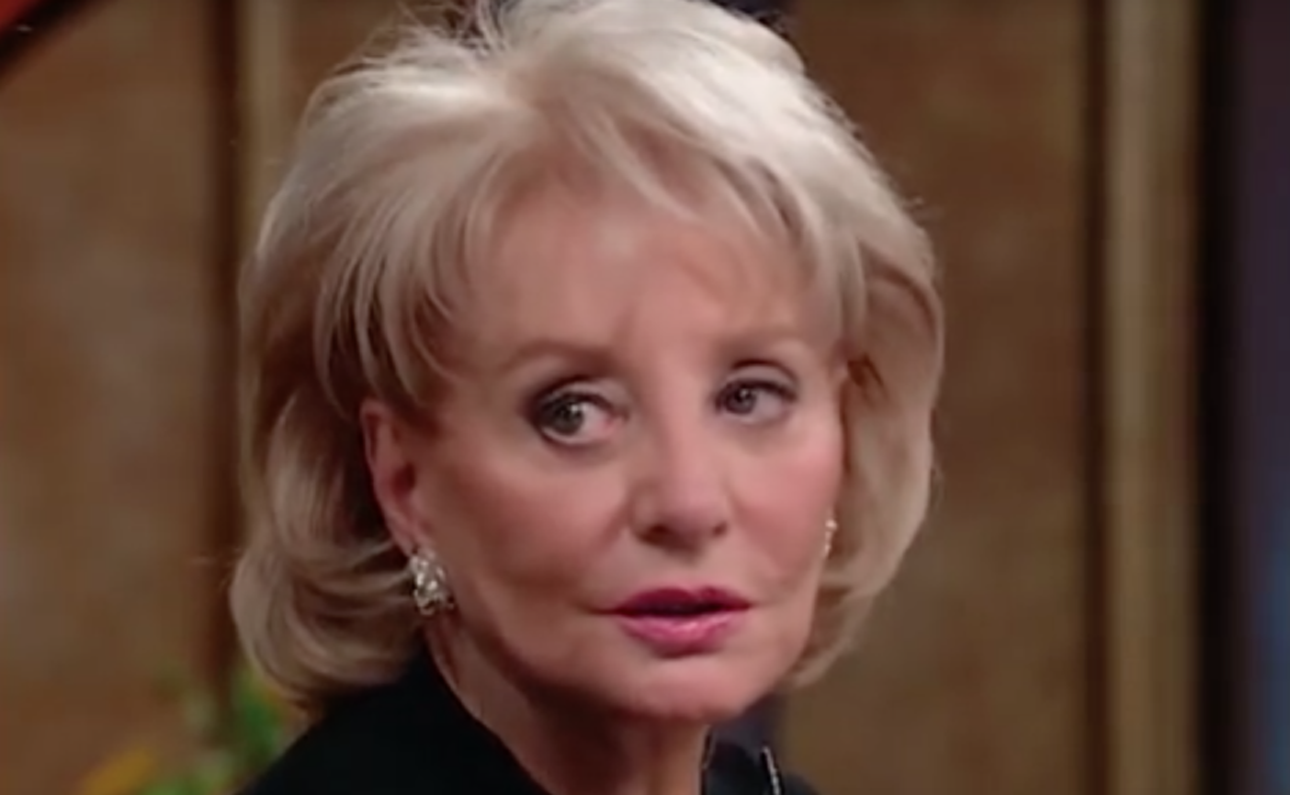 Barbara Walters Branded A 'Scumbag' For Response To Showbiz Child Abuse Scandal