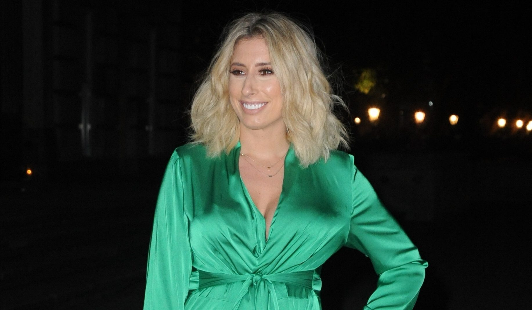 Stacey Solomon wows fans with her National Television Awards transformation