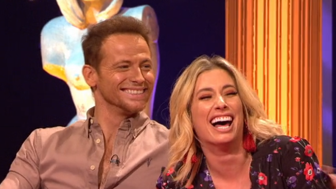 Stacey Solomon reveals a little too much about her and Joe Swash's sex life