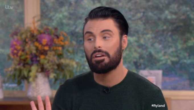Rylan explains THAT awkward Strictly gaffe on This Morning