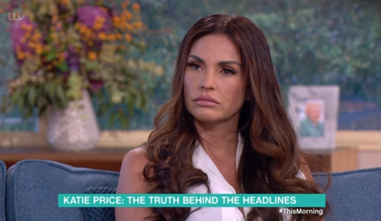 Katie Price tells Eamonn and Ruth they know the celebrity who raped her