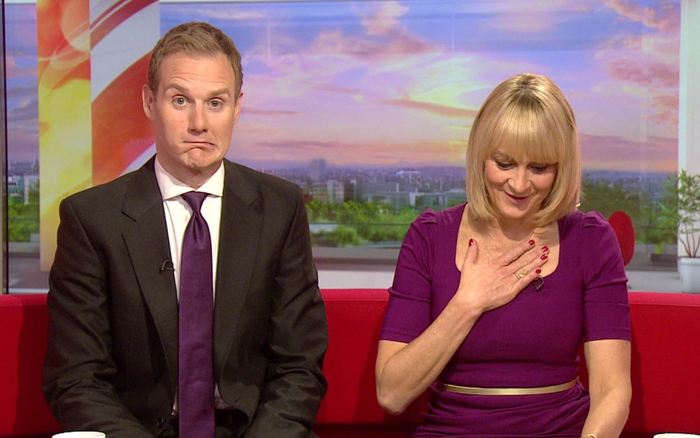 BBC Breakfast presenter apologises for swearing live on air
