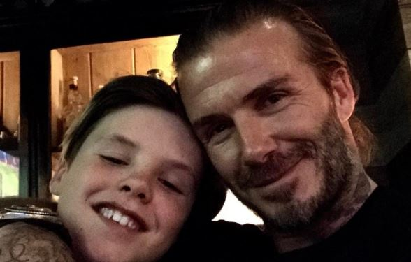 Cruz Beckham, 12, has fans worried as he posts video of himself in the gym