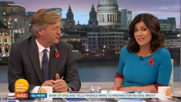 Richard Madeley makes cheeky remark about Susanna Reid's GMB appearance after night out