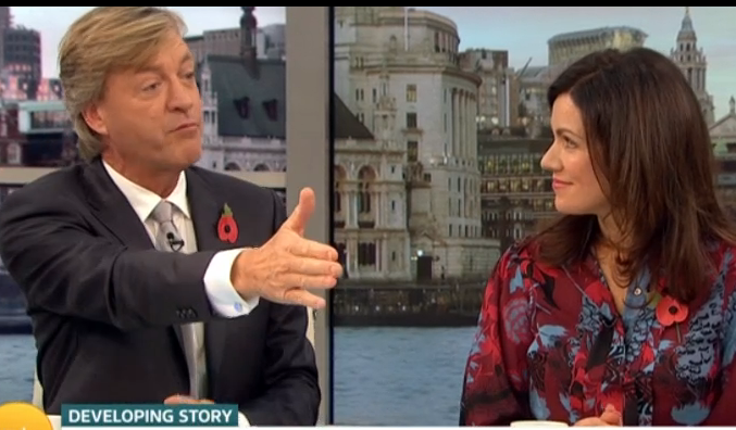 Richard Madeley bids farewell to GMB viewers... and not everyone is happy to see him go