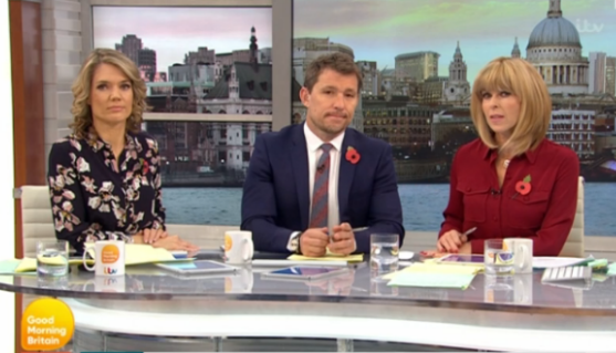 """Amused GMB viewers distracted by MP's """"worst wig ever"""""""