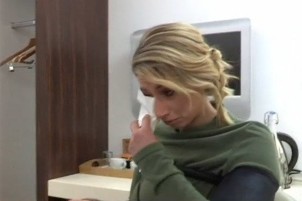 Stacey Solomon breaks down as she faces crippling fear of death