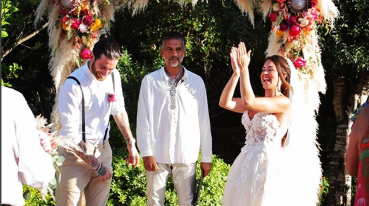 EastEnders' Lacey Turner shows unseen wedding day video