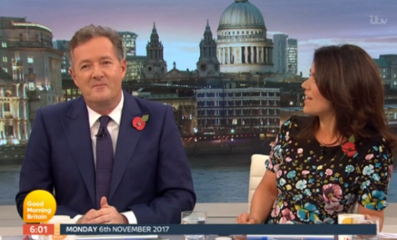 GMB viewers notice Piers Morgan isn't quite his old self as he returns after three week absence