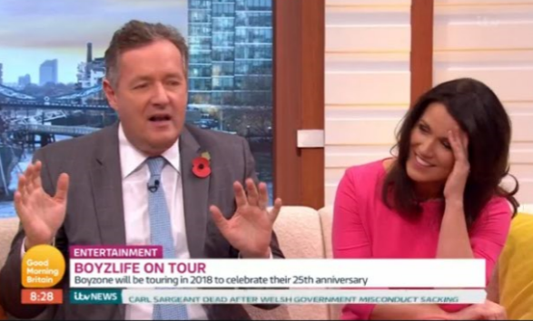 Cover your ears, GMB viewers have a surprising demand for Piers Morgan
