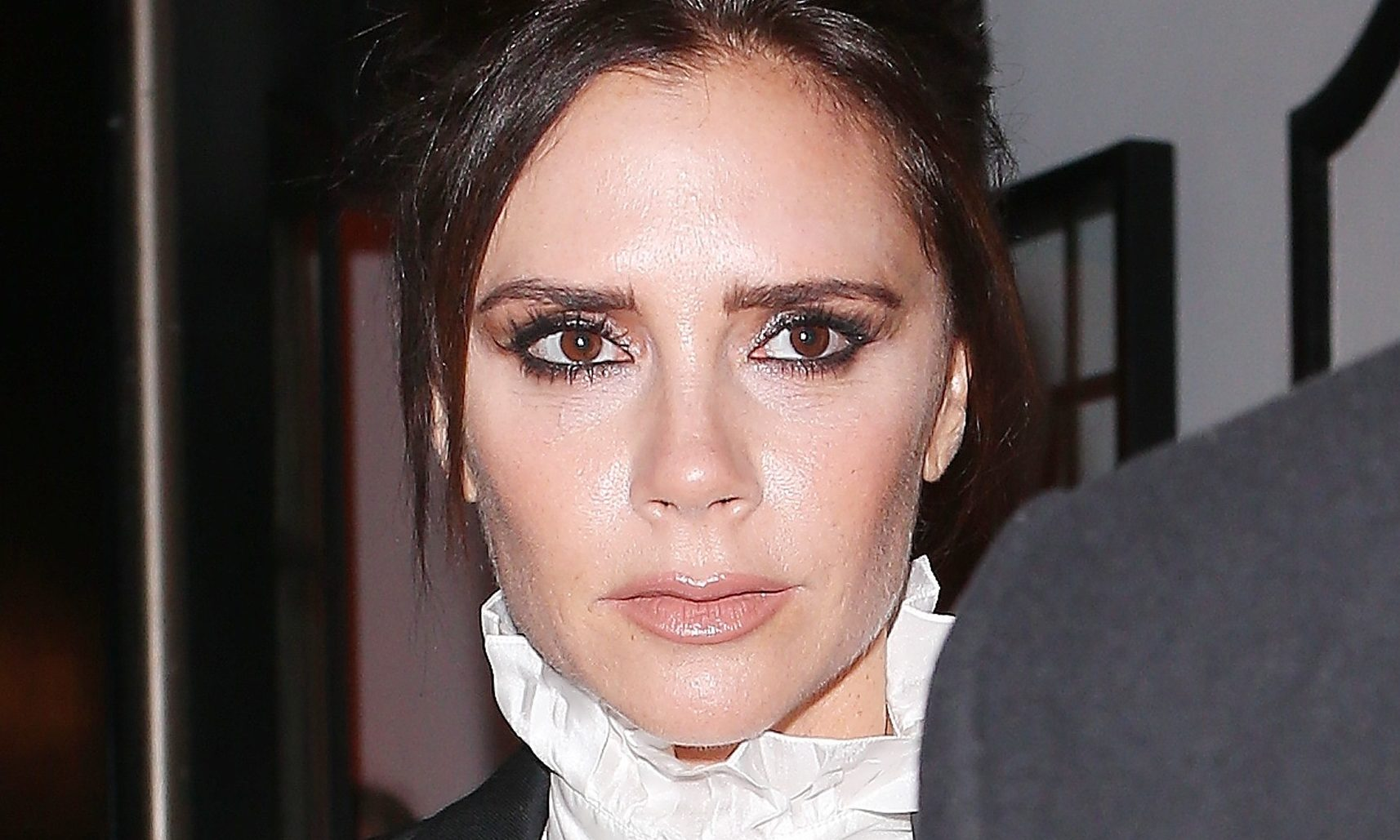 Victoria Beckham proves she CAN let her hair down with intimate NYE snaps