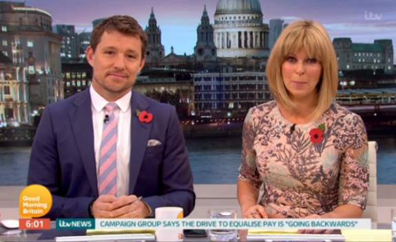 GMB host nearly misses the show by oversleeping after big night out