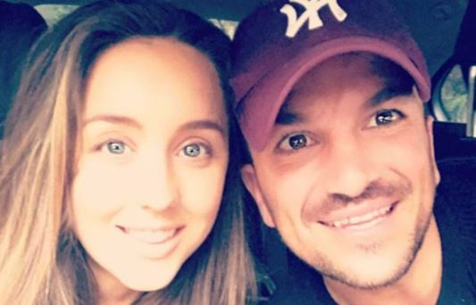 Peter Andre has fans in hysterics with VERY naughty photo of wife