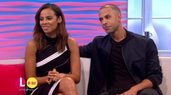 Rochelle and Marvin Humes reveal how it felt to watch their bandmates compete in Strictly dance-off