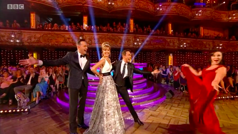 Shirley Ballas nearly missed her dance on and viewers loved it