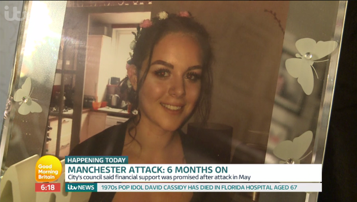 Manchester bombing victim Olivia Campbell's mum getting married to mark daughter's 16th birthday
