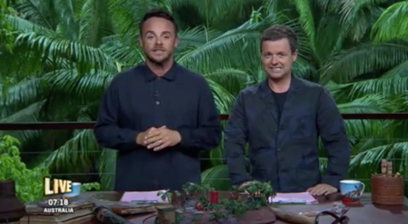 Ant and Dec told off by I'm A Celeb producers