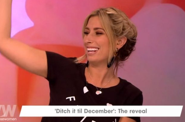 Loose Women viewers grossed out as Stacey Solomon shows off her hairy body