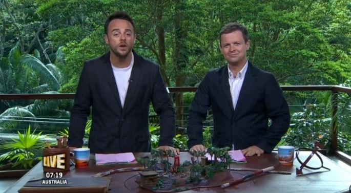 I'm A Celeb fans left disappointed by Dec after tonight's show