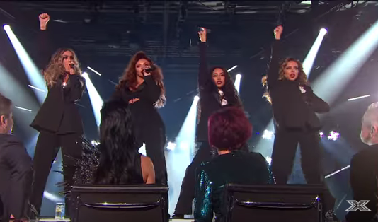 Little Mix's X Factor costumes spark Twitter backlash