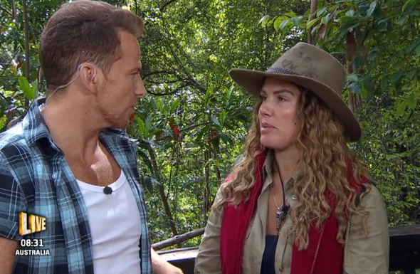 """I'm A Celeb fans brand Rebekah Vardy a """"sour-faced bully"""" as she criticises Iain Lee on Extra Camp"""