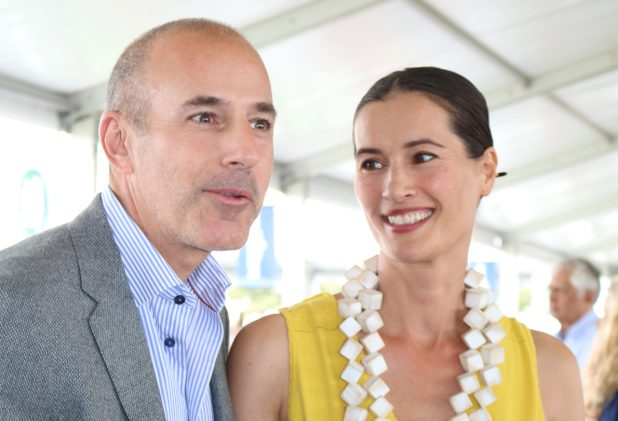 Disgraced Matt Lauer Reunites With Embattled Wife for Holidays