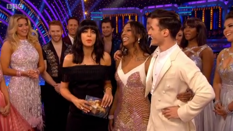 Strictly's Claudia loses her cool as Gorka grabs at her again - despite ticking off