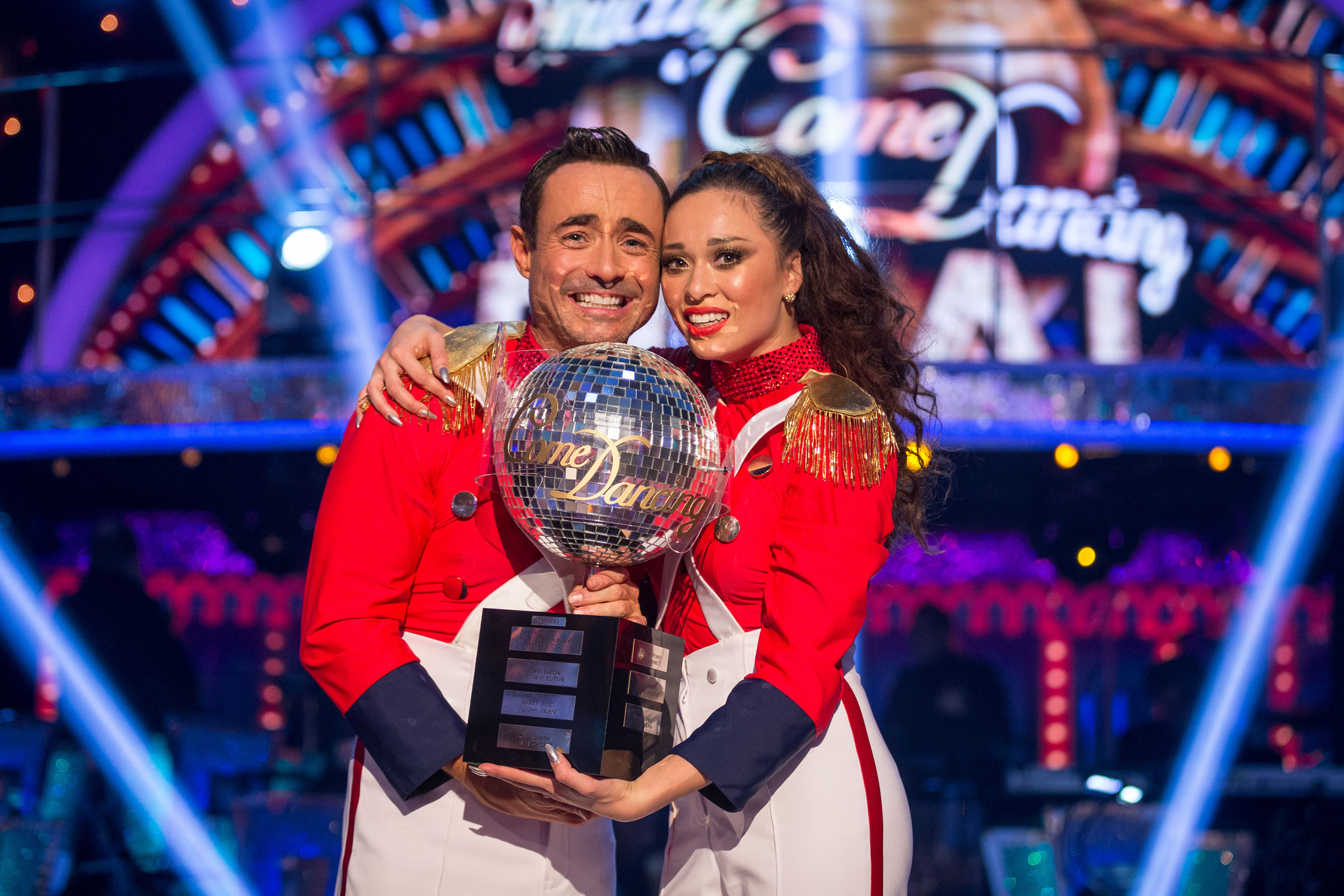 Joe McFadden Strictly win 2017