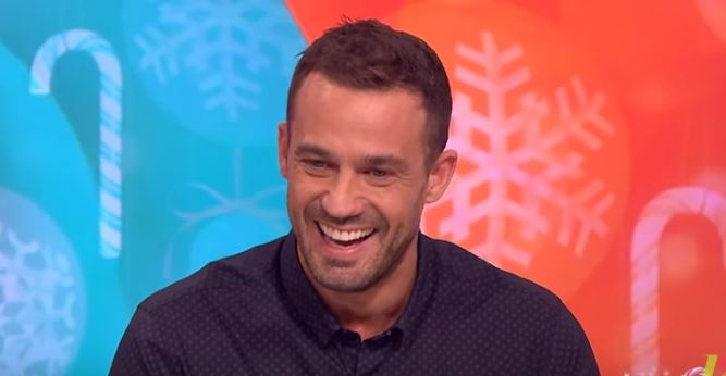 Jamie Lomas' daughter cried after he 'embarrassed' her in front of I'm A Celeb star