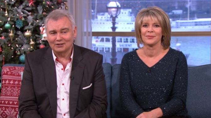 Eamonn Holmes jokes he's nearly arrested every time he meets Duchess of Cornwall