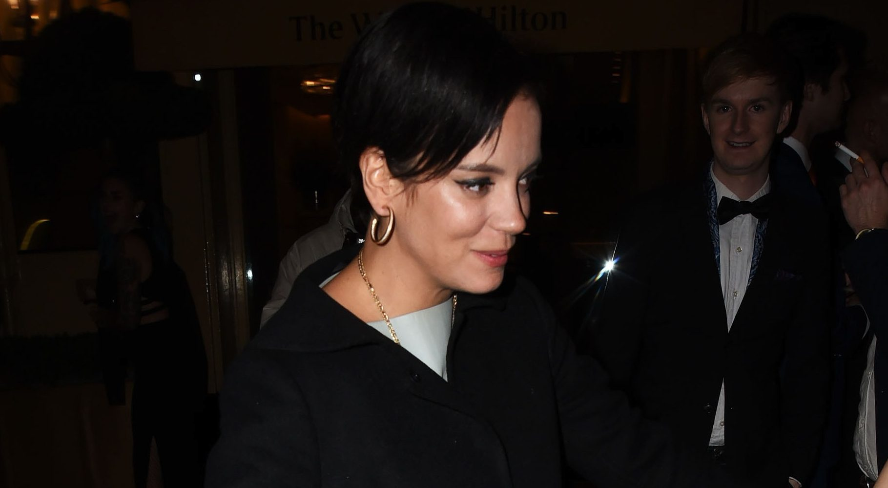 Lily Allen left panicked after suffering major Christmas blunder
