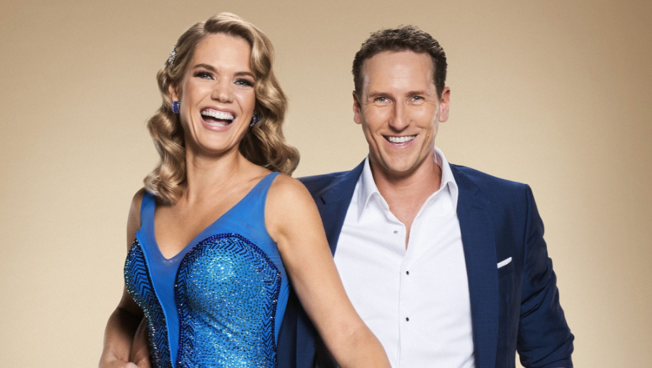 Brendan Cole Charlotte hawkins Stricly Come Dancing (credit: BBC)