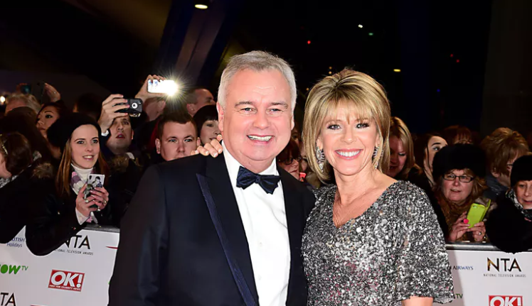 Ruth Langsford pays sweet tribute to Eamonn Holmes as he's awarded OBE