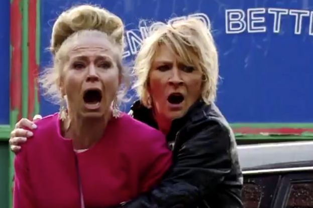 Shirley Linda carter Eastenders (Credit: BBC)