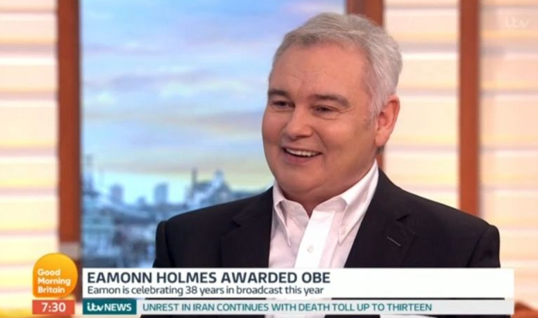Eamonn Holmes breaks some bad news to Ruth Langsford