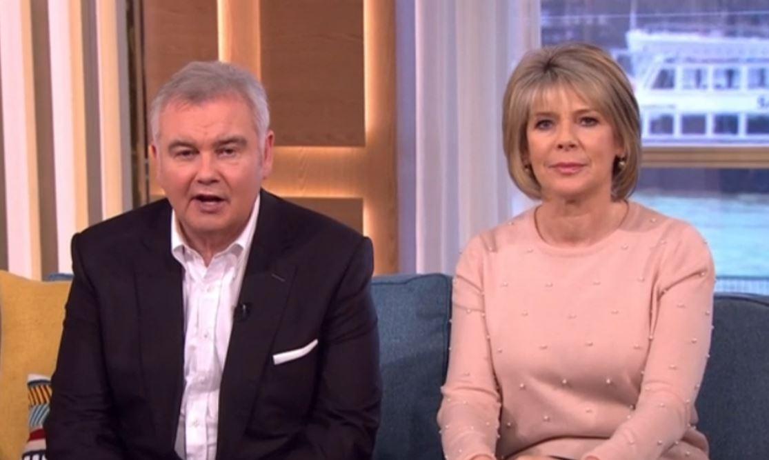 Ruth Langsford reveals she demanded same pay as Eamonn Holmes