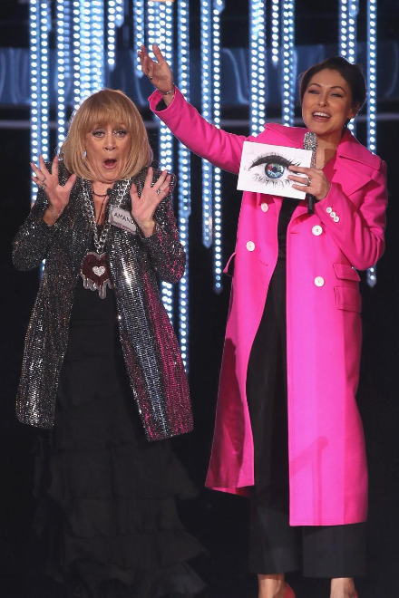 Amanda barrie Emma Willis CBB (Credit: Channel5)