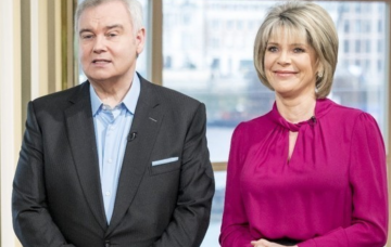 Eamonn Holmes and Ruth Langsford This Morning (Credit: ITV)