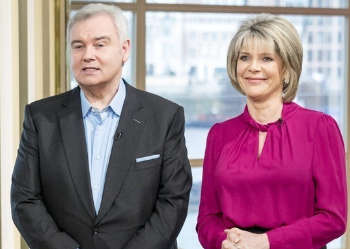 Ruth Langsford joins Eamonn Holmes for OBE honour