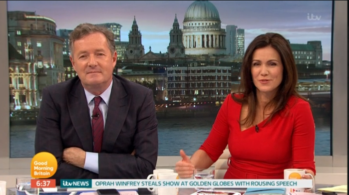 Unwell Piers Morgan 'mans up' to make GMB return... and not everyone is happy about it