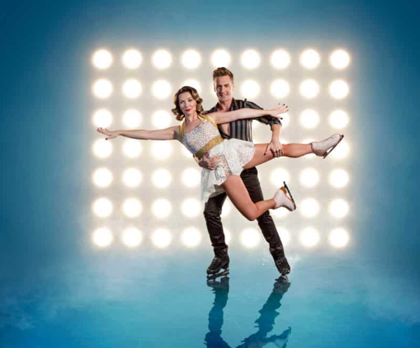 Candice Brown Matt Evers Dancing on Ice 2018 (Credi: ITV)