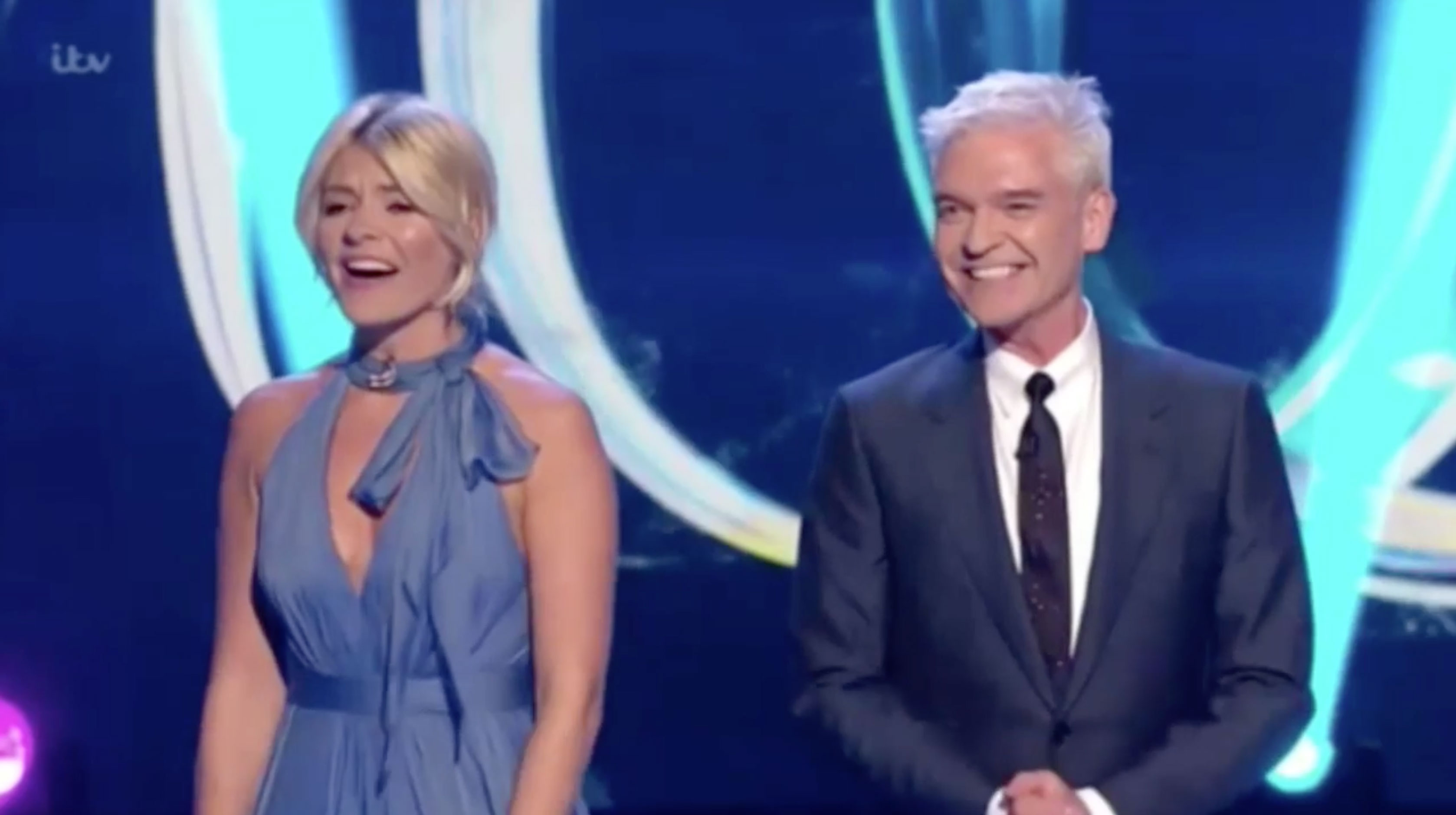 Holly Willoughby almost turns the air blue on live TV