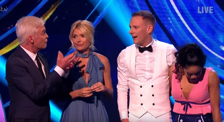Phillip Schofield explains Antony Cotton's 'inappropriate' behaviour on Dancing On Ice