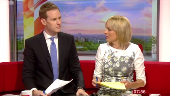 BBC Breakfast viewers up in arms over Dan Walker gaffe
